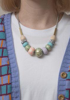 Image of Whitney Big bead necklace