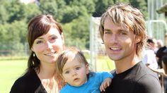 Sven Hannawald mit seiner Ex-Freundin Nadine L. und Sohn Matteo