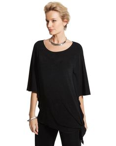 Chico's Side-Tie Top #chicos