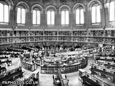 80 miles of books in the world's largest library reading room of the British Museum. There are 18 rows of desks, used over the years by countless famous people including both Marx and Lenin, provide accommodation for 390 readers