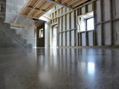 Polished Concrete Floor Wales