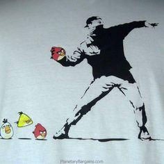 Banksy ai tempi di @AngryBirds