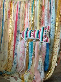 Limited Edition Gypsy Junk Curtains Hippie by ChangesByNeci