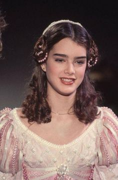 Actress Brooke Shields dressed up as a princess. Get premium, high resolution news photos at Getty Images Brooke Shields, Pretty Baby, Stock Pictures, Documentaries, Dress Up, Actresses, Princess, Hair Styles, Beauty