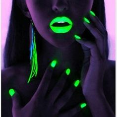 Rave-wear, love the neon!