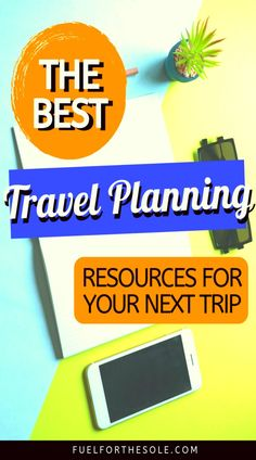2019 is the year of travel! Well, we think so. We have put together the ultimate travel planning guide to make your next vacation stress free! Our travel planner, tips & ideas will help you to find what to do, things to do & places to visit at your destination; create the perfect itinerary, schedule, checklist & timeline by using the top resources, websites, apps & books. Don't sweat it & start checking off your bucket list! #travel #planning #guide #tips #checklist #vacation Fuelforthesole.com