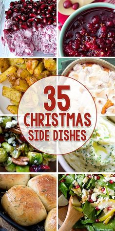 35 Side Dishes that are Perfect for Christmas Dinner!