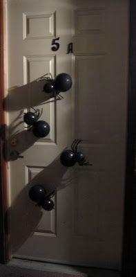 Arañas de globos