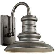 Feiss Redding Station Tarnished Outdoor Wall Lantern - farmhouse - Outdoor Wall Lights And Sconces - Lamps Plus Outdoor Wall Light Fixtures, Led Outdoor Wall Lights, Outdoor Barn Lighting, Indoor Wall Sconces, Rustic Wall Sconces, Patio Lighting, Outdoor Wall Lantern, Wall Sconce Lighting, Outdoor Walls