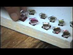 Bead Kiln Demo 2 (fusing dichroic glass earrings) - YouTube