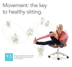 You'll never hear us telling you to sit still. That's because research shows that the healthiest sitting position is one that allows plenty of movement, and the key to movement while sitting is a balanced pelvis and aligned core. Viola! Wabi and Nikko to the rescue!    (Don't forget to get up and move around the space, too!)  (Wabi + Nikko by izzy)