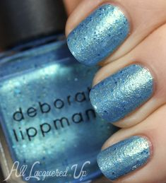 Deborah Lippmann The Mermaids Summer 2013 Nail Polish Swatches | All Lacquered Up.  MERMAIDS EYES