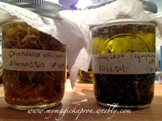 Herbal Infused Oils and Honey