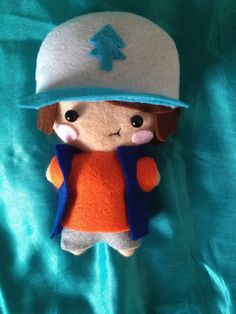 Hey, I found this really awesome Etsy listing at https://www.etsy.com/listing/210565642/gravity-falls-plush-dipper-pines-made-to