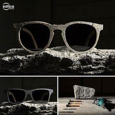 Óculos de pedra pela Shwood #oculos #sunglass #stone #pedra