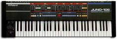I've owned a Roland Juno 106 for quite some time now.  I'm currently getting mine fixed for the second time at the Synth Spa.  It has a bass that is like an old friend.  Warm and fat, with a lot of soul.  It may not be the most sonically diverse, but it's the sound of many well-known synth pop songs from the 80's and 90's.