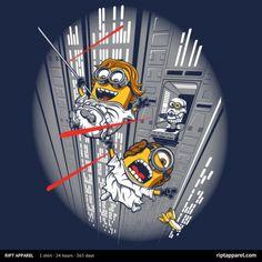 Star Wars Despicable Escape by DJKopet
