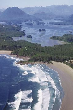 "Tofino, Canada  God's workmanship never ceases to amaze me.  ""There is no God like Jehovah!""  :)"