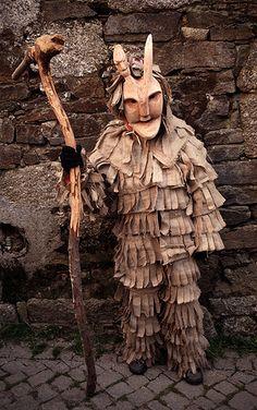 Máscaras del carnaval de Lazarím Carnaval ancestralIbérico Portugal