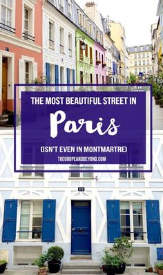 Welcome to Rue Crémieux! #Paris http://toeuropeandbeyond.com/i-found-the-most-beautiful-street-in-paris-and-its-not-in-montmartre/