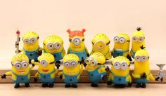 These minion toys would be perfect for a birthday party, stocking stuffer or just to play with. The price is great too! Minion set of 12
