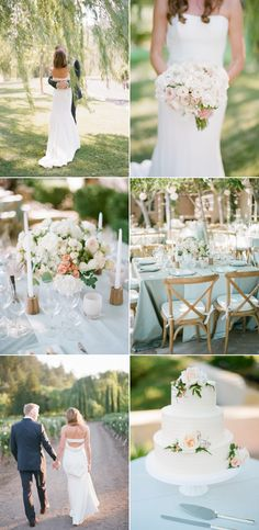 The most stunning lakeside wedding ever. via @stylemepretty