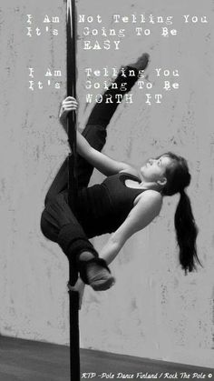 pole dance is so worth it polestars fl Pole Dancing Quotes, Pole Dancing Fitness, Pole Fitness, Barre Fitness, Pole Classes, Aerial Dance, Aerial Silks, Pole Tricks, Pole Dance Moves