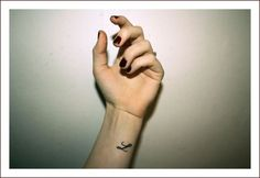 small letter l wrist tattoo - Google Search