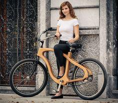 Woodster cruiser bike by Iztok Mohorič