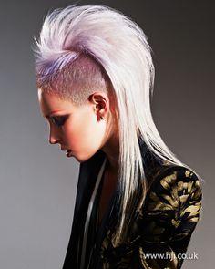 skinhead #Fringe #girl #women #fashion #style #fred #perry | Skinhead ...
