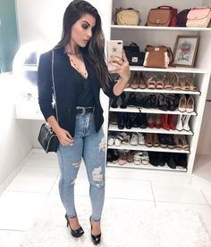 Pretty Summer Outfits To Copy Now ! Trendy Outfits, Summer Outfits, Cute Outfits, Fall Outfits, Blazer Fashion, Fashion Outfits, Womens Fashion, 50 Fashion, Fashion Styles