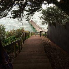 Whairangi Wharf Reserve, Auckland, NZ