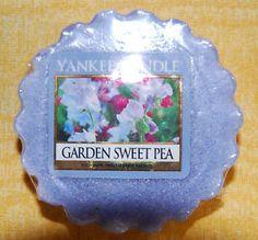 """Yankee Candle Tart """"Garden Sweet Pea"""" NUR 1x VERSANDKOSTEN"""