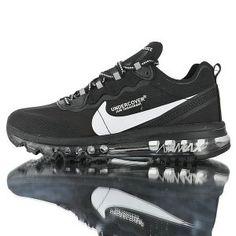 1b18e242b0 Mens Running Shoes NIKE AIR MAX 2017 x React Element 87 White Black AQ1019 -010