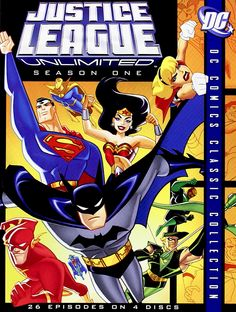 JUSTICE LEAGUE UNLIMITED SEASON ONE DVD