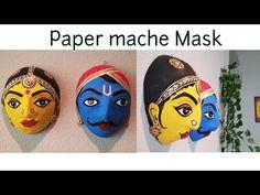 Ideas Diy Paper Mache Sculpture Projects How To Make Paper Mache Mask, Paper Mache Crafts, Paper Mache Sculpture, Clay Crafts, Clay Art Projects, Sculpture Projects, Paper Clay, Diy Paper, Fish Crafts