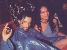 Prince & Mayte Rave into the joy fantastic.