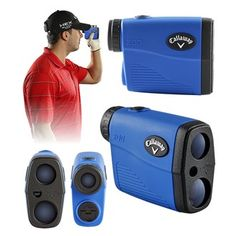 Brand Fusion Callaway 200 Laser Range Finder Product Features: Ultra compact  lightweight P.A.T. - Pin Acquisition Technology Locks onto the flag up to 275 yards away Maximum measurement range 5 - 800 yards Extremely accurate ( /-1 yard) 6x mag http://www.MightGet.com/january-2017-11/brand-fusion-callaway-200-laser-range-finder.asp