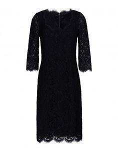 Dolce & Gabbana Scoop-Neck Lace Sheath Dress