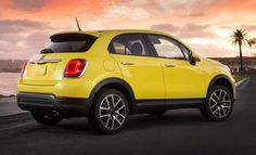 2016 Fiat 500X Trekking Plus. What do you know, a fiat I actually like.