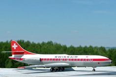 "Sud Aviation SE210 III ""Caravelle"". Revell 1:100. www.flugzeugkunst.eu"