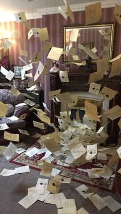 All the letters coming to 4 Privet Drive for Harry Potter from Hogwarts