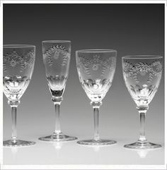 Crystal Bowls, Barware, Wine & Champagne Glasses by William Yeoward Crystal Crystal Stemware, Waterford Crystal, Champagne Glasses, Just Friends, Displaying Collections, Home Accessories, Barware, Entertaining, Crystals