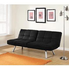 Mainstays Contempo Futon Sofa Bed Multiple Colors