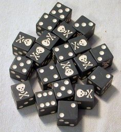 For playing a Pirate Perudo.