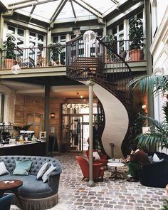 The Hoxton Hotel, Paris Hotel Paris, Home Id, Turbulence Deco, Cultural Architecture, Interior Decorating, Interior Design, House Design, House Styles, Instagram