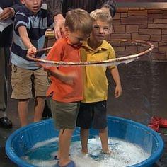 Giant Bubble Experiment | Experiments | Steve Spangler Science