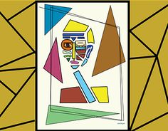 """Check out new work on my @Behance portfolio: """"Triangleman"""" http://on.be.net/1JznHWd"""