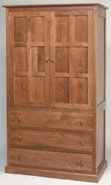 Sante Fe Mission Style Armoire Furniture
