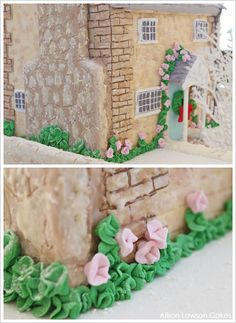 Winter English Cottage Cake by Alison Lawson  |  TheCakeBlog.com